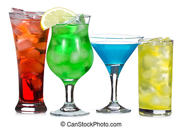alcohol, cocktails