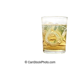 alcohol glass isolated, drink