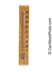alcohol, termómetro, aire