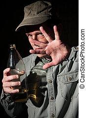 alcohol, verslaafde