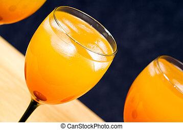 Alcoholic Beverage Closeup
