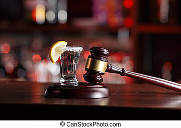 Alcoholic beverages and court hammer-the concept of driving