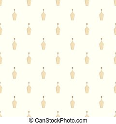 Alcoholic bottle pattern seamless vector