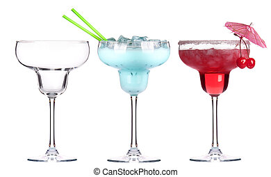 alcoholic cocktail set