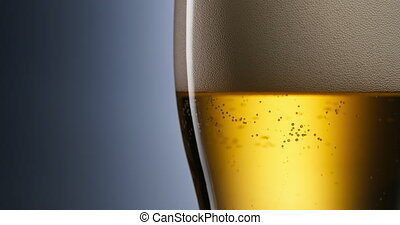 Alcoholism And Addiction Issues Lager Beer Pouring Into...