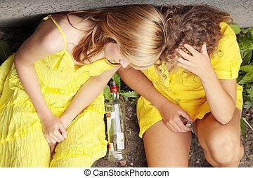 alcool, adolescent, dépendance