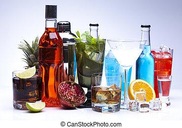 alcool, cocktail, bibite