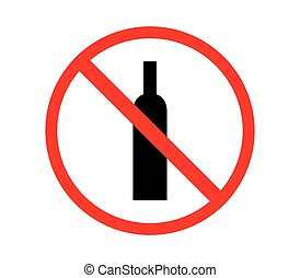 alcool, non