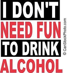 alcool, pas, boisson, besoin, bière, amusement