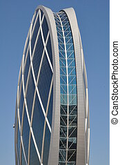 Aldar Building in Abu Dhabi