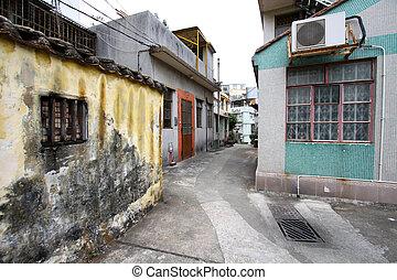 aldea, en, macao