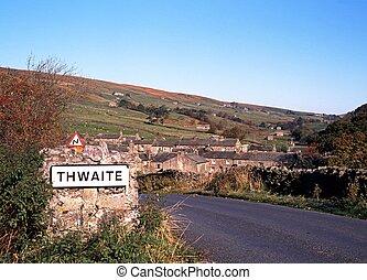 aldea, thwaite, camino, uk.