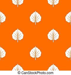 Alder leaf pattern seamless