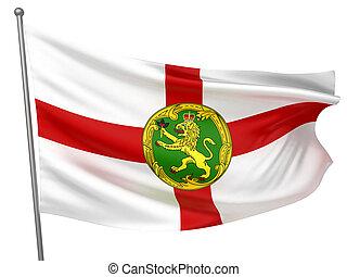 Alderney National Flag