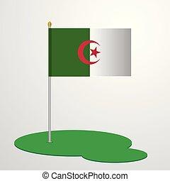 Alegeria Flag Pole