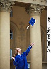 alegría, graduación