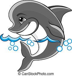 alegre, delfín