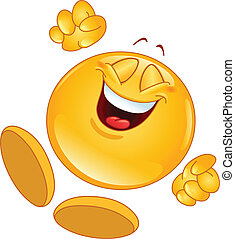 alegre, emoticon