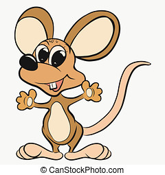 alegre, grande, ratinho, orelhas