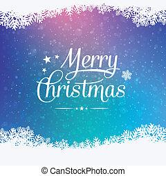 alegre, invierno, navidad, plano de fondo, nevoso