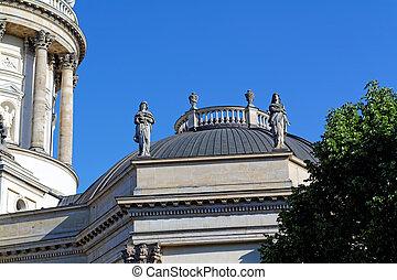alemán, catedral, alemania, berlín