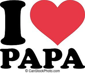alemão, amor, meu, pai