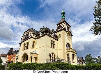 alemão, casa, koblenz, alemanha, clássicas