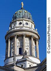alemão, catedral, alemanha, berlim