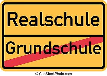 alemão, escola detalhada, -, elementar