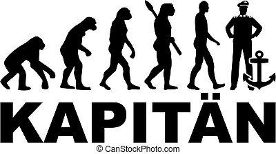 alemão, evolução, capitão, trabalho, título