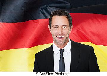 alemão, homem negócios