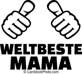 alemão, mundos, melhor, mãe