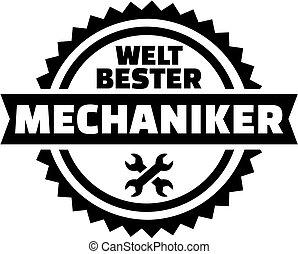 alemão, mundos, melhor, mecânico