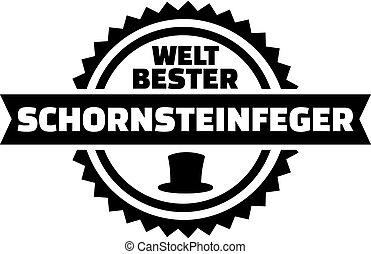 alemão, mundos, melhor, varredura chaminé