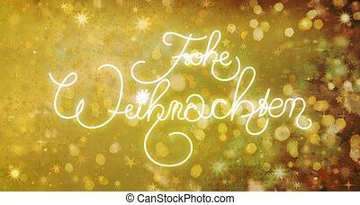 alemão, natal, feliz, weihnachten, frohe