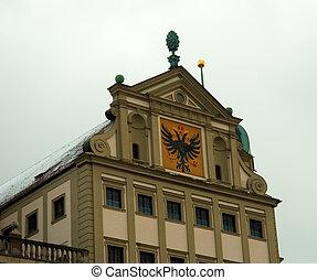 alemão, predios, Governo