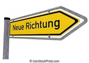 alemão, sinal tráfego