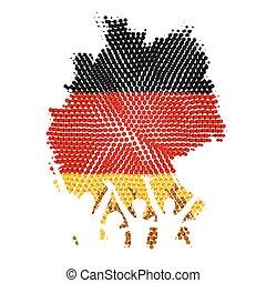 alemão, unidade