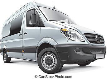 alemania, full-size, furgoneta