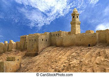 aleppo, citadel, syrië