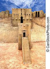 aleppo, citadelle, syrie