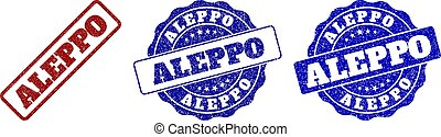 ALEPPO Grunge Stamp Seals