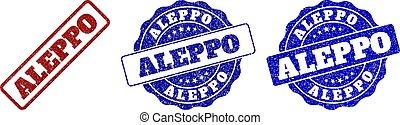 ALEPPO Grunge Stamp Seals