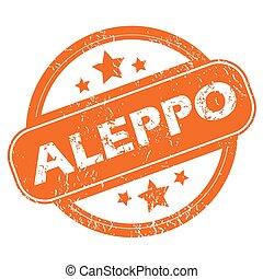 Aleppo round stamp