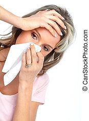 alergia, grypa