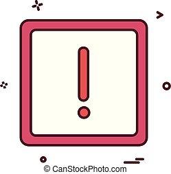 alert icon vector