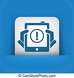 Alert mobile device