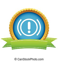 Alert round icon