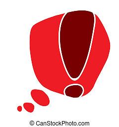 alert symbol design