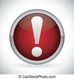 alert symbol design - alert symbol graphic design , vector...